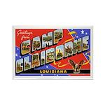 Camp Claiborne Louisiana Rectangle Magnet