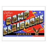 Camp Claiborne Louisiana Small Poster