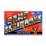 Camp Claiborne Louisiana Mini Poster Print