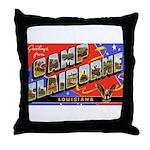 Camp Claiborne Louisiana Throw Pillow