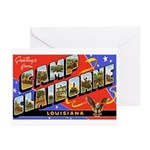 Camp Claiborne Louisiana Greeting Cards (Package o