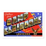 Camp Claiborne Louisiana Postcards (Package of 8)