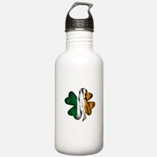 fadedshamrockwhite.png Water Bottle