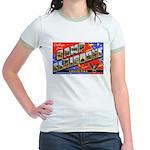 Camp Claiborne Louisiana Jr. Ringer T-Shirt