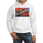 Camp Claiborne Louisiana (Front) Hooded Sweatshirt