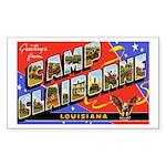 Camp Claiborne Louisiana Rectangle Sticker