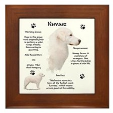 Kuvasz 2 Framed Tile