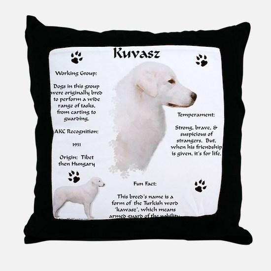 Kuvasz 2 Throw Pillow