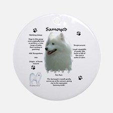 Sammy 4 Ornament (Round)