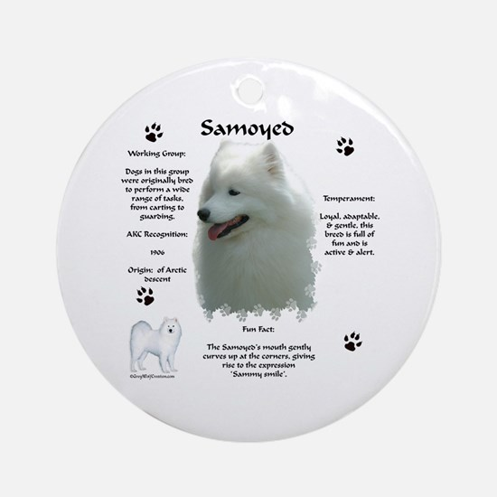 Sammy 4 Ornament (Round)
