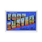 Fort Custer Michigan Rectangle Magnet