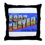 Fort Custer Michigan Throw Pillow