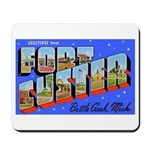Fort Custer Michigan Mousepad