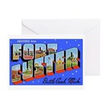 Fort Custer Michigan Greeting Cards (Pk of 10)