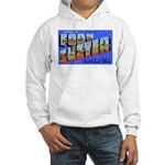 Fort Custer Michigan (Front) Hooded Sweatshirt