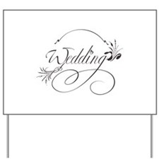 Wedding Yard Sign