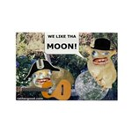 WE LOVE THE MOON-CARD_2 Magnets