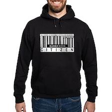 Dannebrog, Citizen Barcode, Hoodie