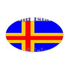 Aland Islands.jpg Oval Car Magnet