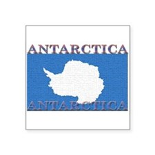 "Antarctica.jpg Square Sticker 3"" x 3"""