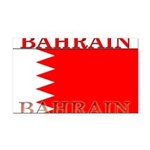 Bahrainblack.png Rectangle Car Magnet