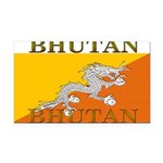 Bhutan.jpg Rectangle Car Magnet
