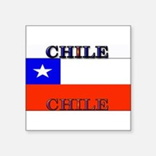 "Chile.jpg Square Sticker 3"" x 3"""
