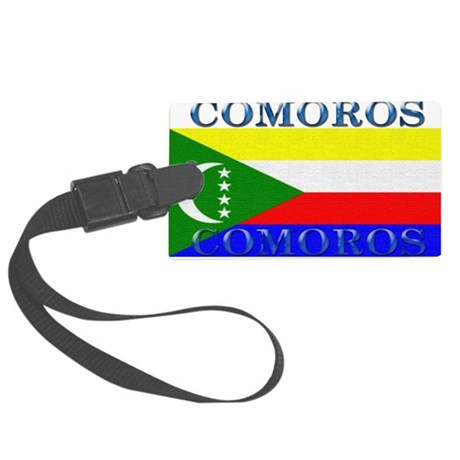 Comoros.jpg Large Luggage Tag