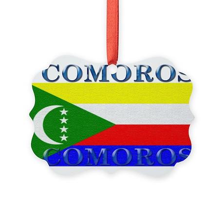 Comoros.jpg Picture Ornament