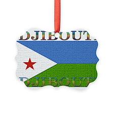 Djibouti.jpg Picture Ornament