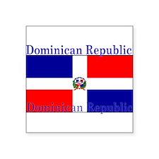 """DominicanRepublic.jpg Square Sticker 3"""" x 3"""""""