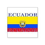 Ecuador.jpg Square Sticker 3
