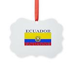 Ecuador.jpg Picture Ornament