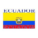 Ecuador.jpg Rectangle Car Magnet