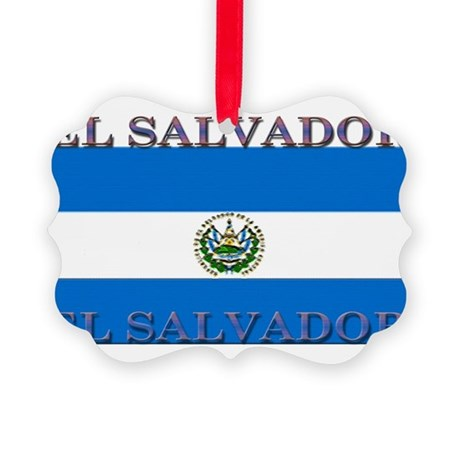 ElSalvador.jpg Picture Ornament