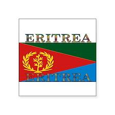 """Eritrea.jpg Square Sticker 3"""" x 3"""""""