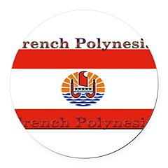 FrenchPolinesia.jpg Round Car Magnet