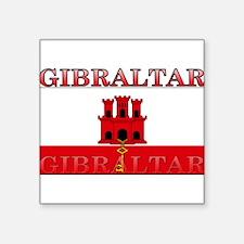 "Gibraltar.jpg Square Sticker 3"" x 3"""