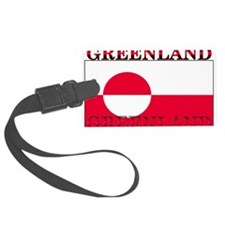 Greenland.png Luggage Tag