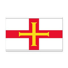 Guernseyblank.png Rectangle Car Magnet