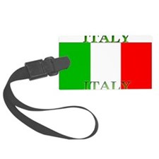 Italyblack.png Luggage Tag