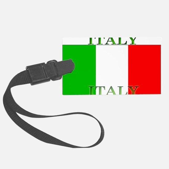 Italyblack.png Luggage Tag