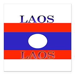 Laos.jpg Square Car Magnet 3