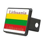 Lithuania.jpg Rectangular Hitch Cover
