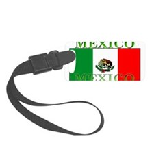 Mexicoblack.png Luggage Tag