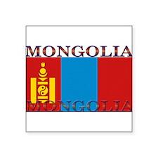 "Mongolia.jpg Square Sticker 3"" x 3"""