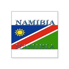 "Namibia.jpg Square Sticker 3"" x 3"""