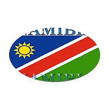 Namibia.jpg Oval Car Magnet