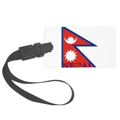 Nepal.jpg Luggage Tag