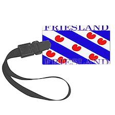 Frieslandblack.png Luggage Tag